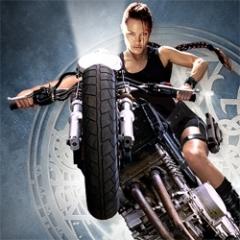 """Angelina Jolie en """"Tomb Raider"""""""