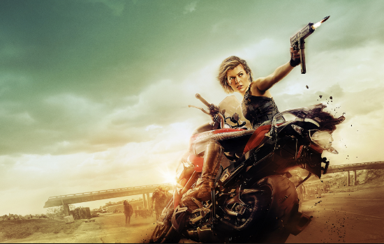 "Milla Jovovick en ""Resident Evil"""